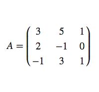 Operaciones con matrices en C